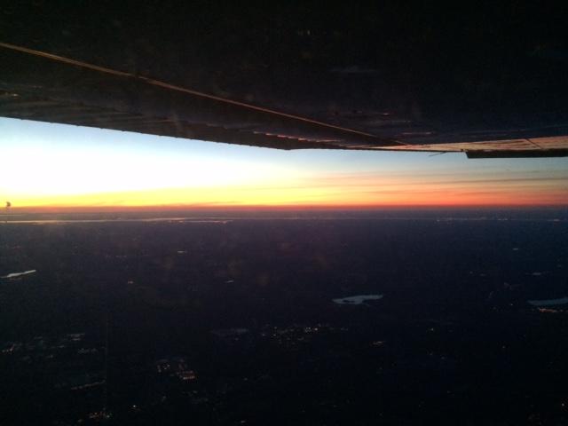 Sunset over DE