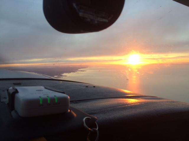 Dawn near KGON