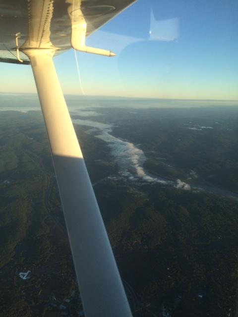 River valley fog