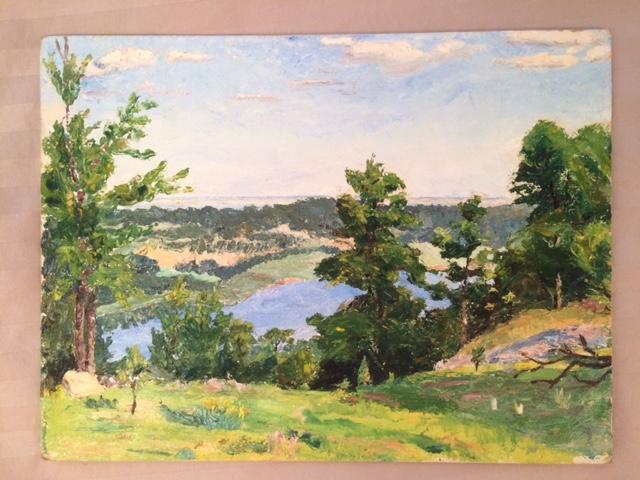 Grandpa painting 2