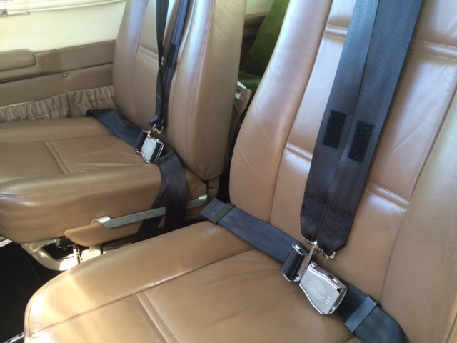 New seat belts 0816