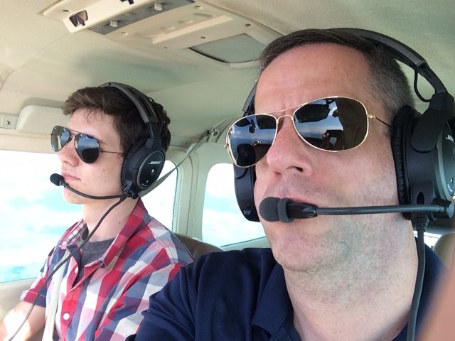 Philippe (as private pilot) & PJT 0716