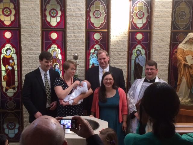 Joseph Elven christening
