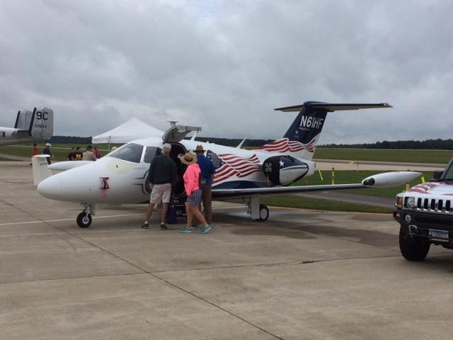 Hero Flight (VAC) Eclipse jet